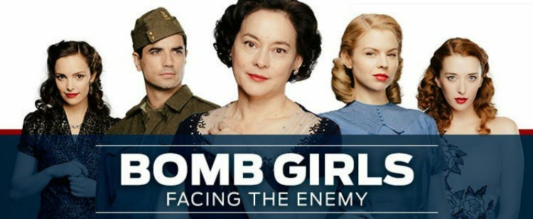 A Vintage Nerd, Vintage Blog, Bomb Girls, Bomb Girls Facing the Enemy, Period Tv Show