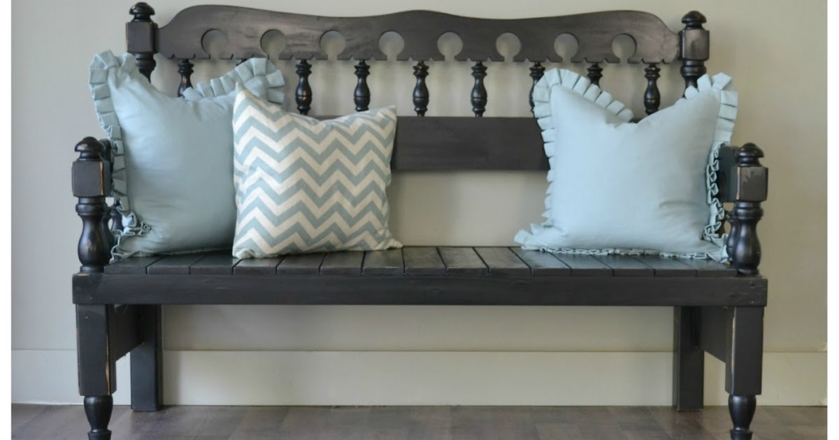 Funky Junk Headboard Footboard Bench