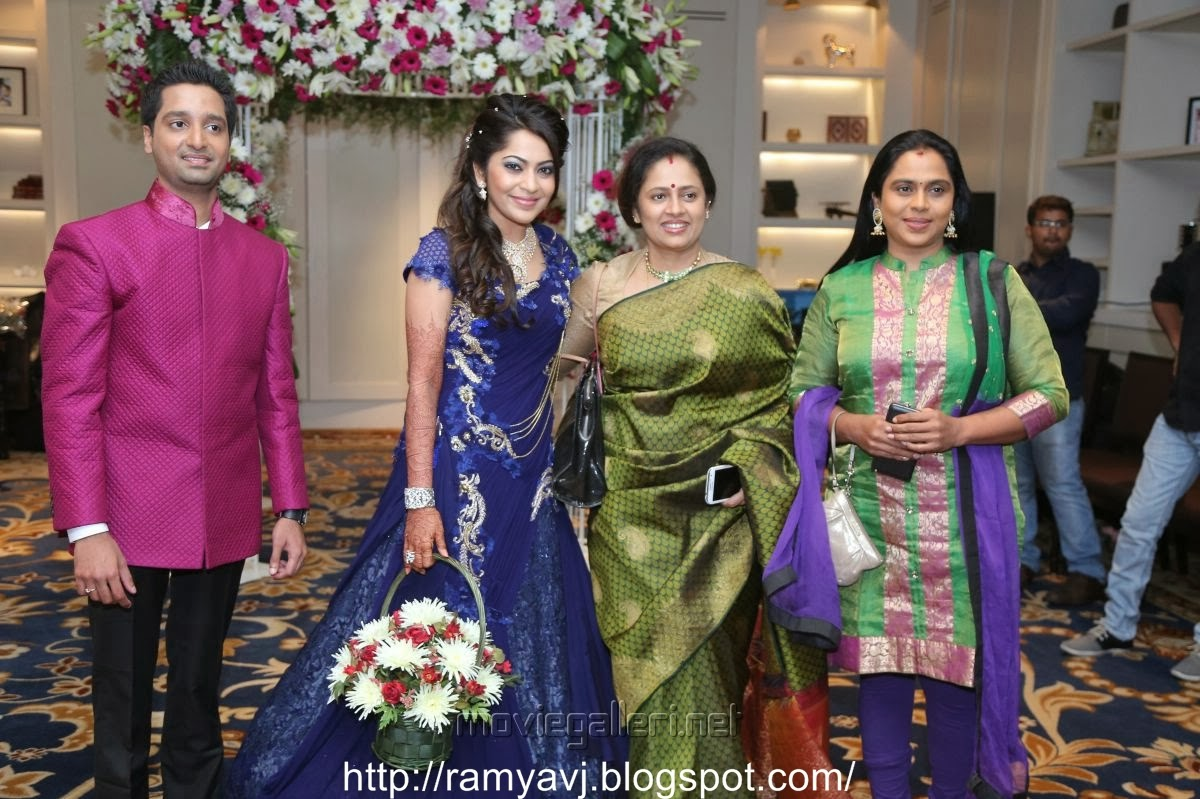 Stars At Vj Ramya Wedding Reception Collection 3