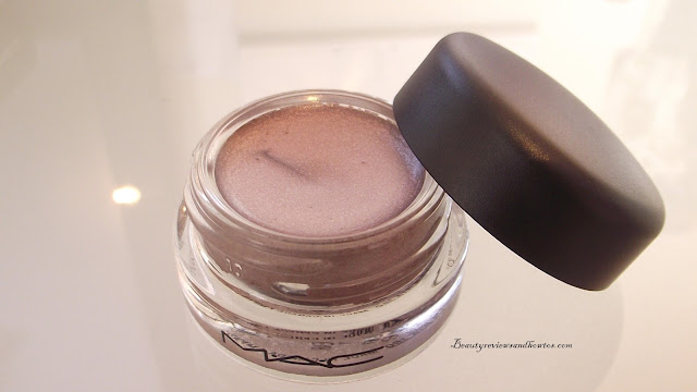 MAC Pro Longwear Paint Pot Review - Frozen Violet