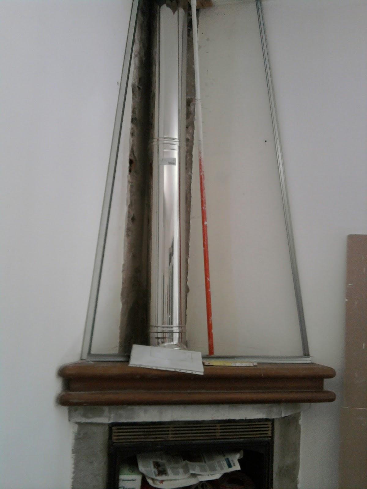Andrea cassinelli artigiano struttura del camino in for Camino cartongesso