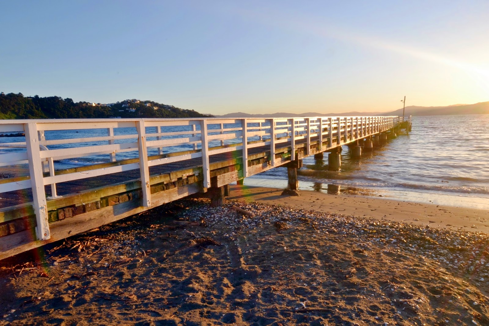 Seatoun Pier at sunrise