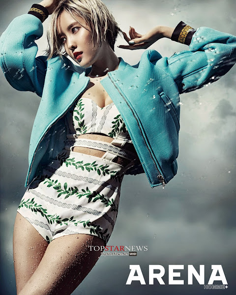 Hyomin T-ara Arena Homme July 2014