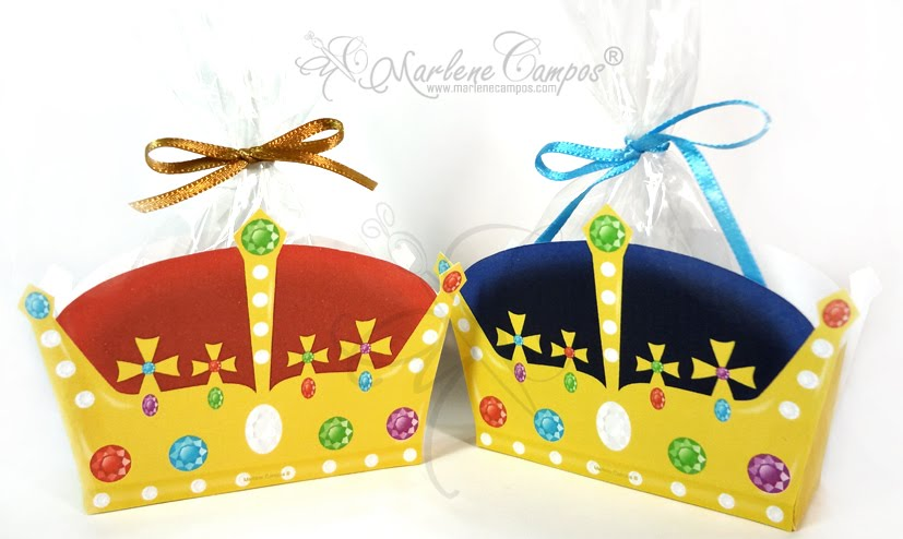 King Crowns Favor Boxes