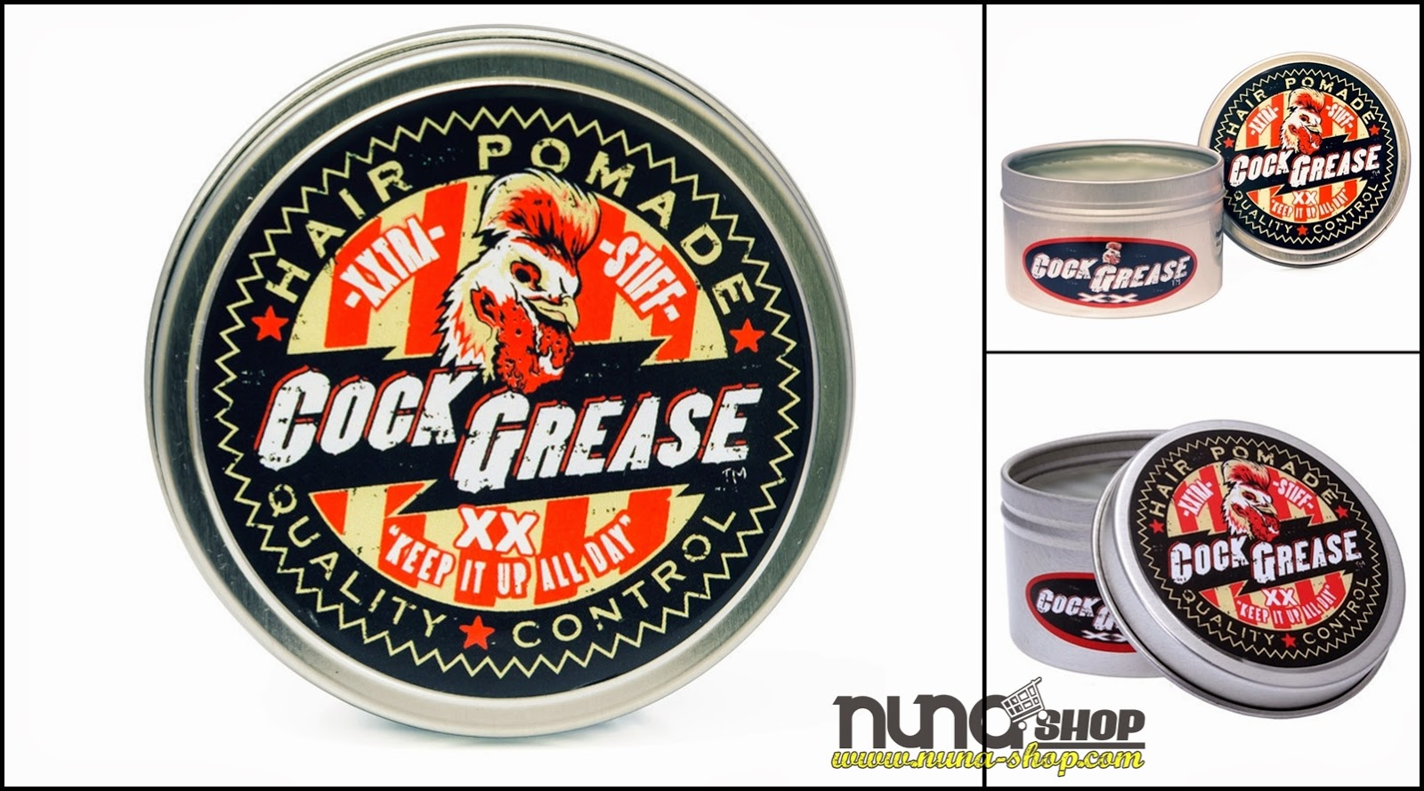 Pomade Cock Grease XX Original