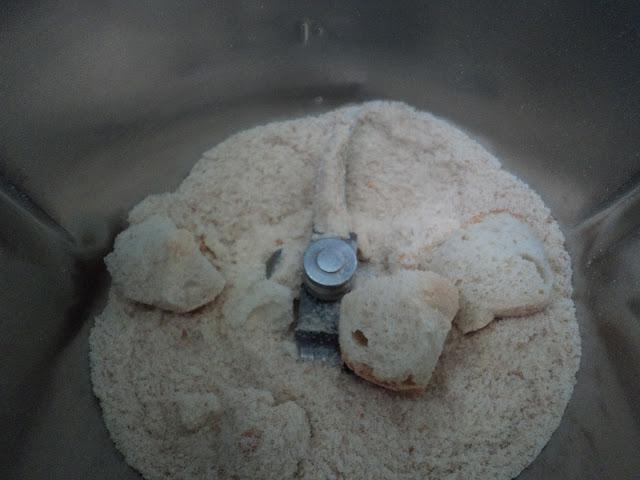 Pan rallado con ajo y perejil receta casera