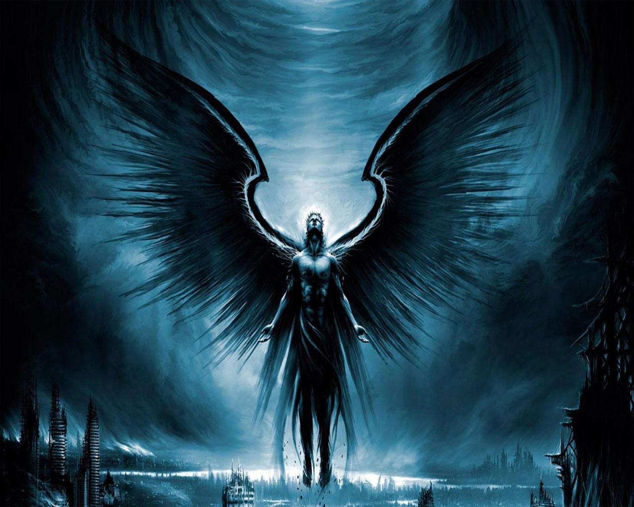 Ya novelties review sweet evil by wendy higgins - Dark gothic angel wallpaper ...