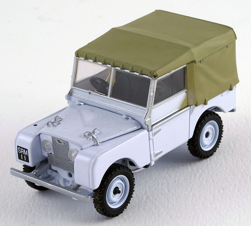 Model Land Movie: Land Rover Diecast Model Cars Collection: LAND ROVER Series I
