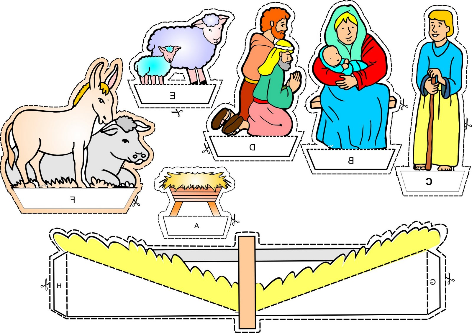 Didi @ Relief Society: Christmas Activity ideas! Printable Nativity
