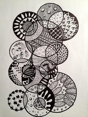 zentangle, zendoodle