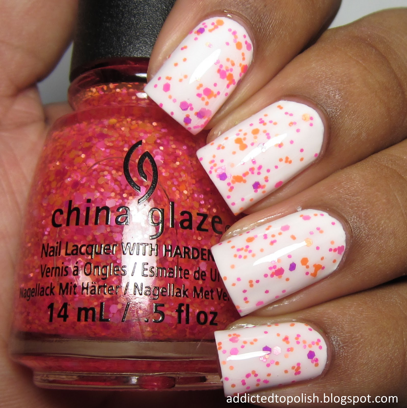 china glaze let the beat drop summer 2015 electric nights