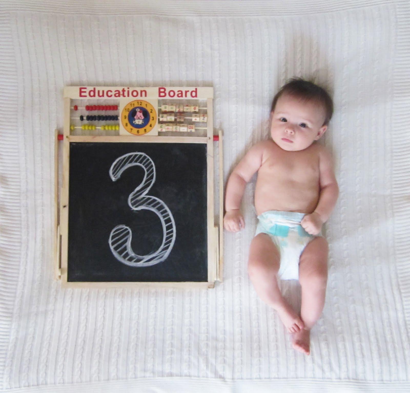 Стефании 3 месяца