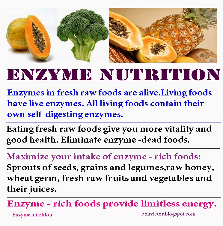 Nutrition for Athletes Should Include Live Enzymes