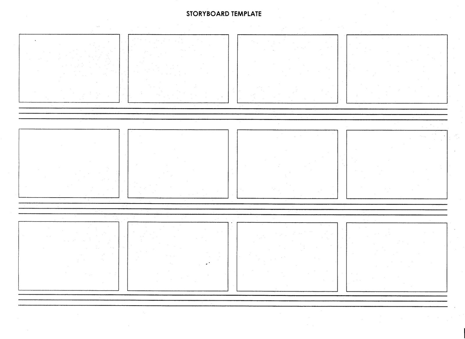 storyboard template, Modern powerpoint