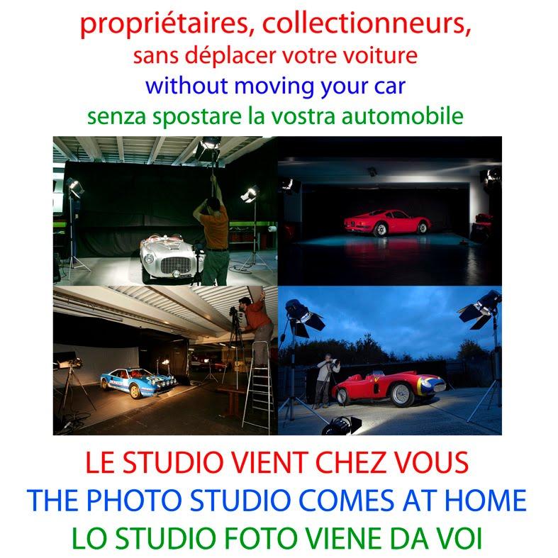 photo studio d' automobiles de collection