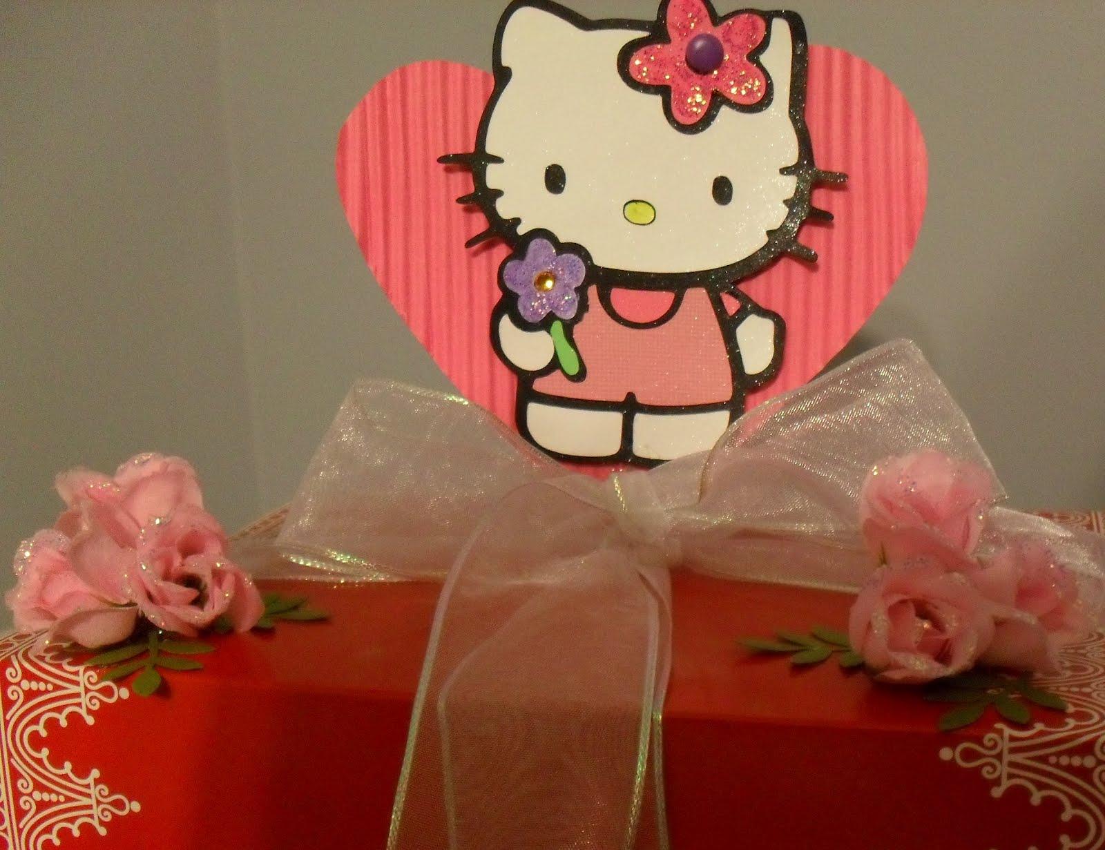 hello kitty valentines rose box - Cat Valentine Box