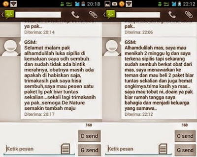 Screen Shoot Testimoni Pembeli