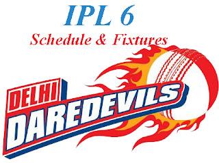 Delhi-Daredevils-IPL-6-2013-Schedule-and-Fixtures
