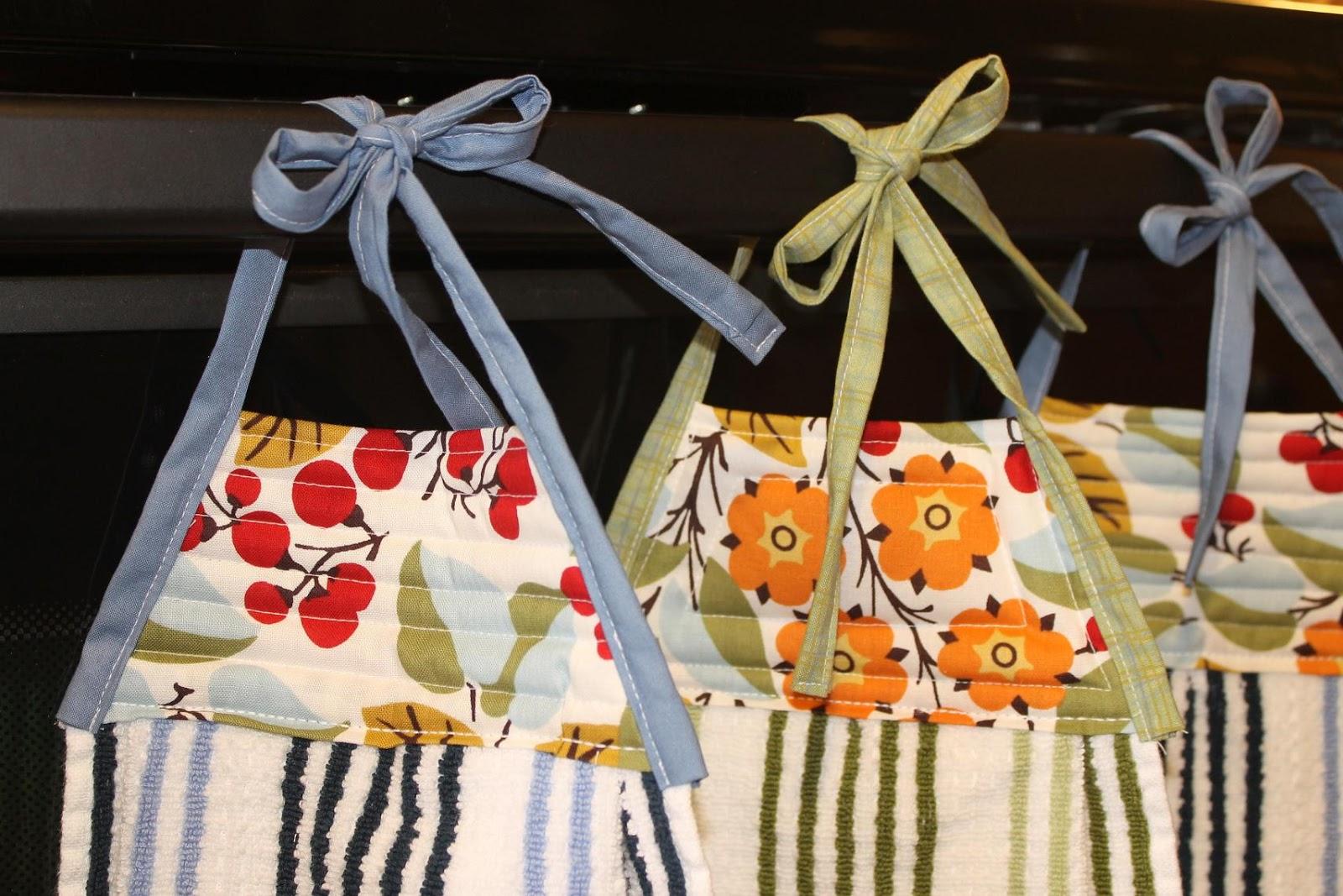 Superieur Hanging Kitchen Towels Tutorial