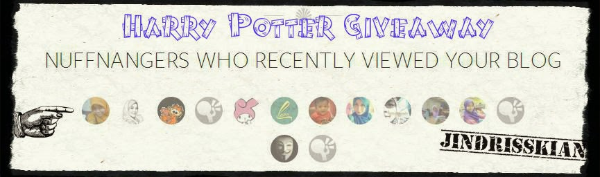Harry Potter Postcards Giveaway from Me!