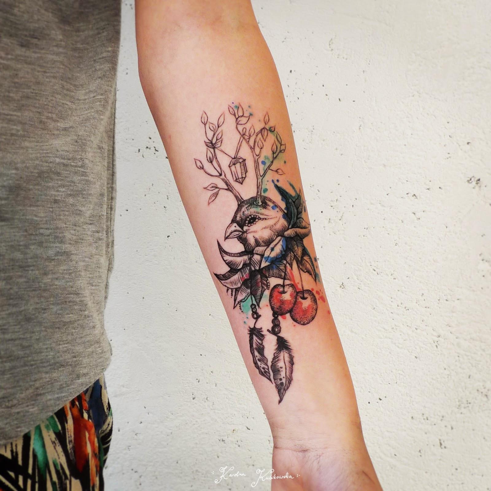 moose antler tattoo