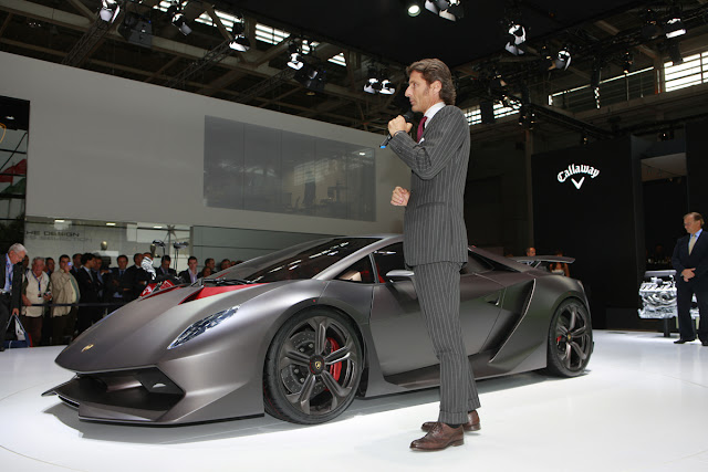 Lamborghini Concept Sixth Element Carbon Fiber Paris Motor Show 2010
