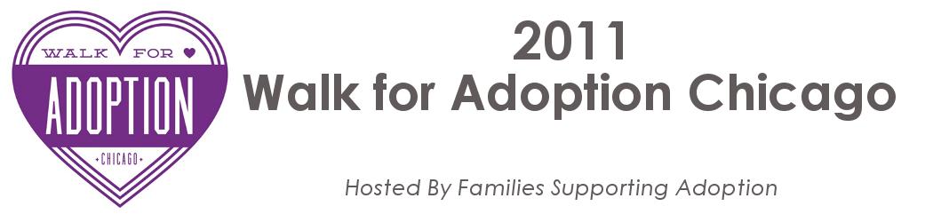 2011 Walk for Adoption Chicago
