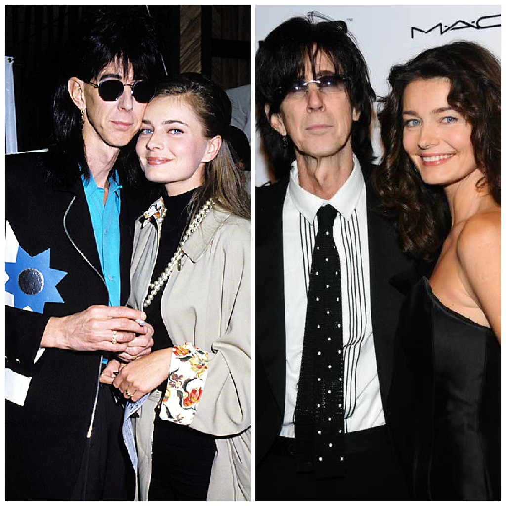 model and the beast, beauty and the beast, celeb couples still together, ric ocasek and paulina porizkova