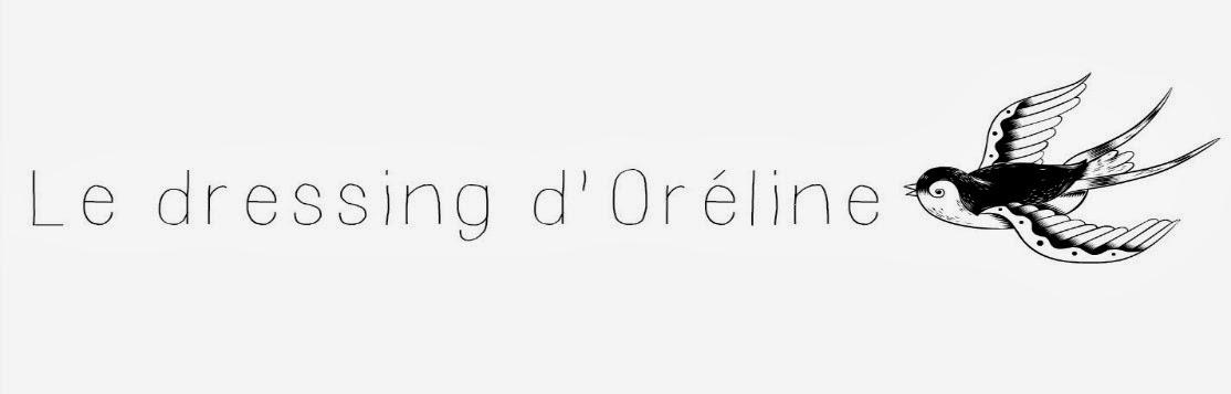 Le dressing d'Oréline