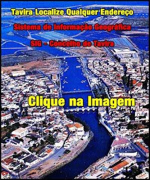 Mapa Interativo do Concelho de Tavira