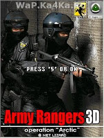 Army Rangers 3D : 240x320 Java Game For Mobile