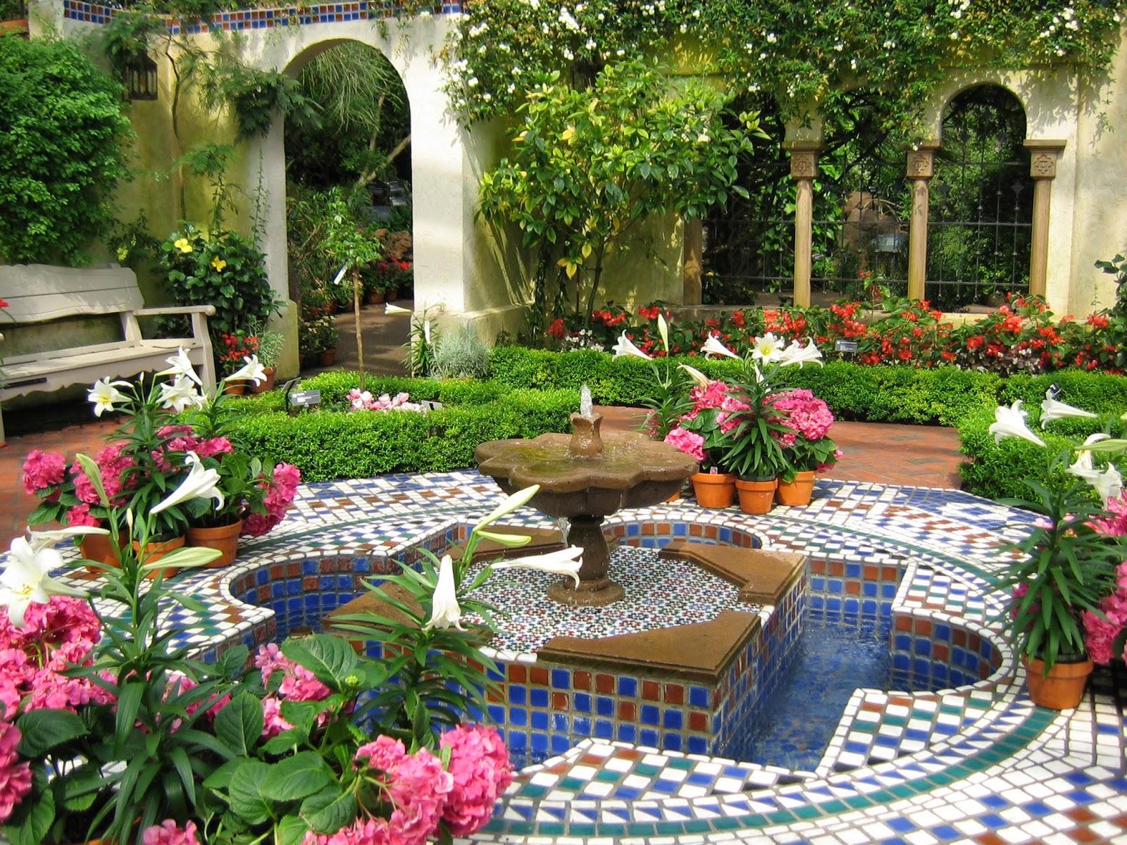 Arte y jardiner a dise o de jardines seleccionar un estilo for Diseno de jardines lima