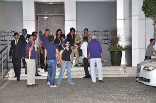 Shahrukh Khan returns after Kolkata Night Riders's victorious semifinal match