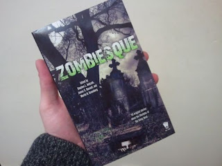Zombiesque book cover