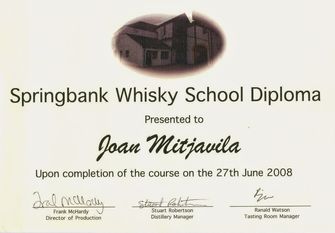 Springbank Whisky School