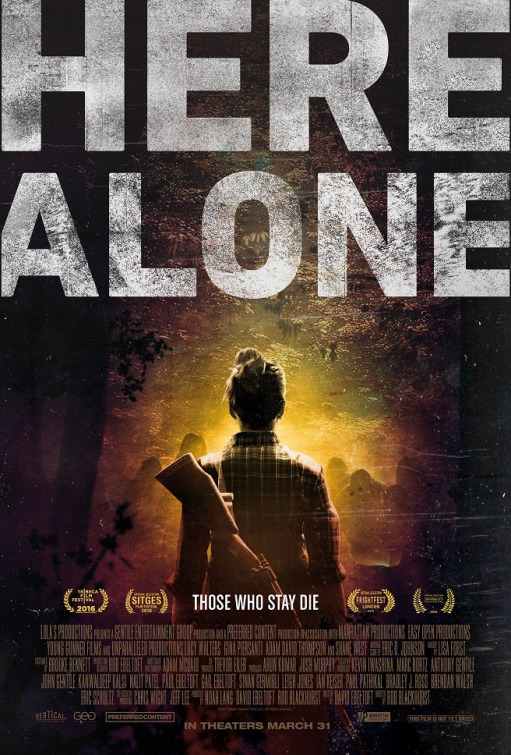Filme Poster Here Alone