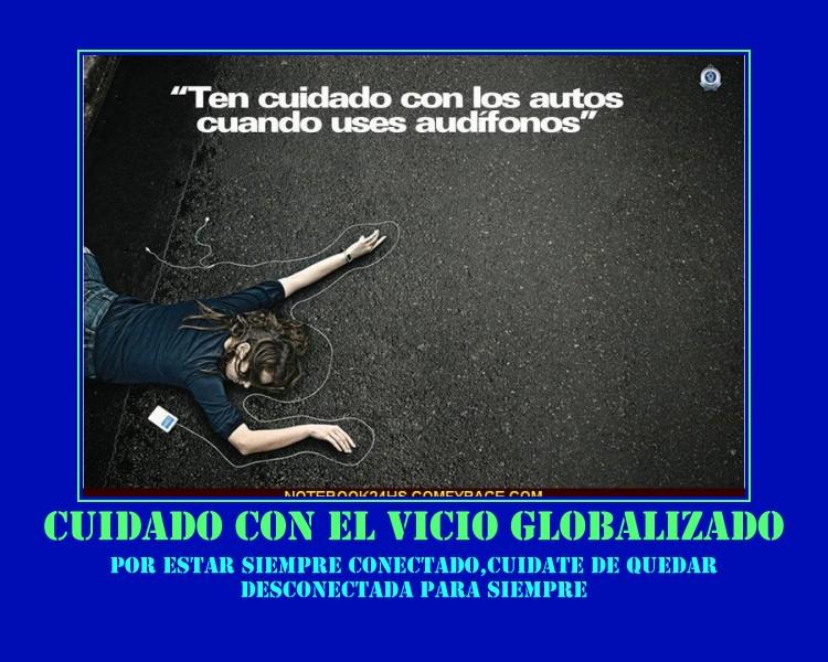 CUIDATE DE ESTAR SIEMPRE CONECTADA-LISTA PARA EL MUNDO GLOBALIZADO