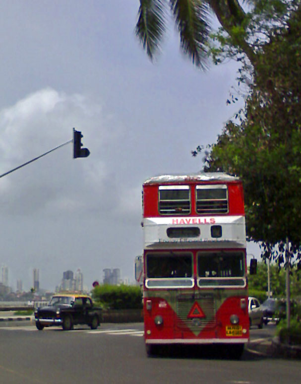 double decker bus in Mumbai