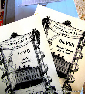 Gold and Silver Award Winner - World's Marmalade Awards 2013