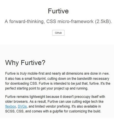Furtive CSS