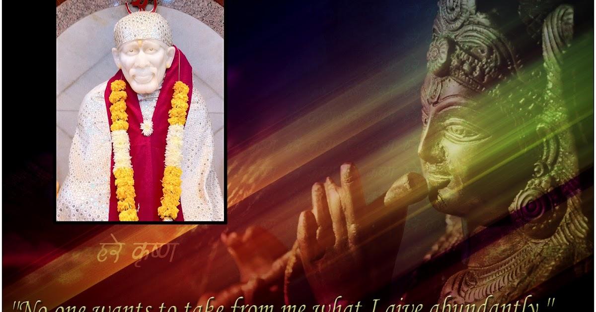 Sai Baba S Miracles In My Life Sai Devotee Darshan