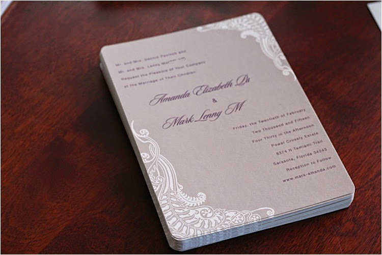 Wedding Invitations With Minted