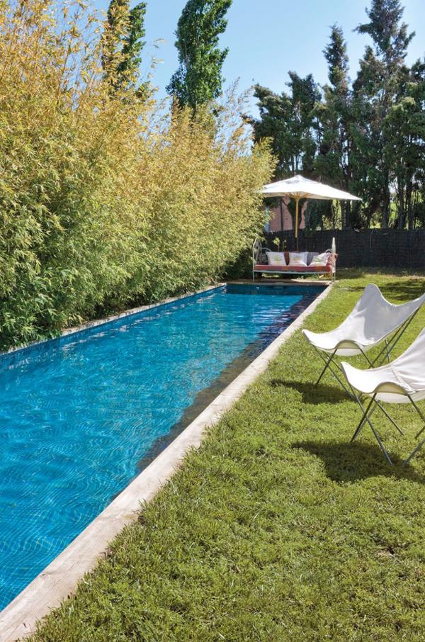 Hotel rural de luxe cerca de Barcelona piscina jardin larga