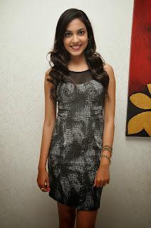 Ritu varma young new actress in Black Mini Dress at  Carbon Pub event