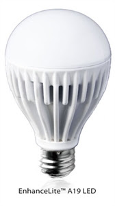 enhancelite a19 LED light bulb