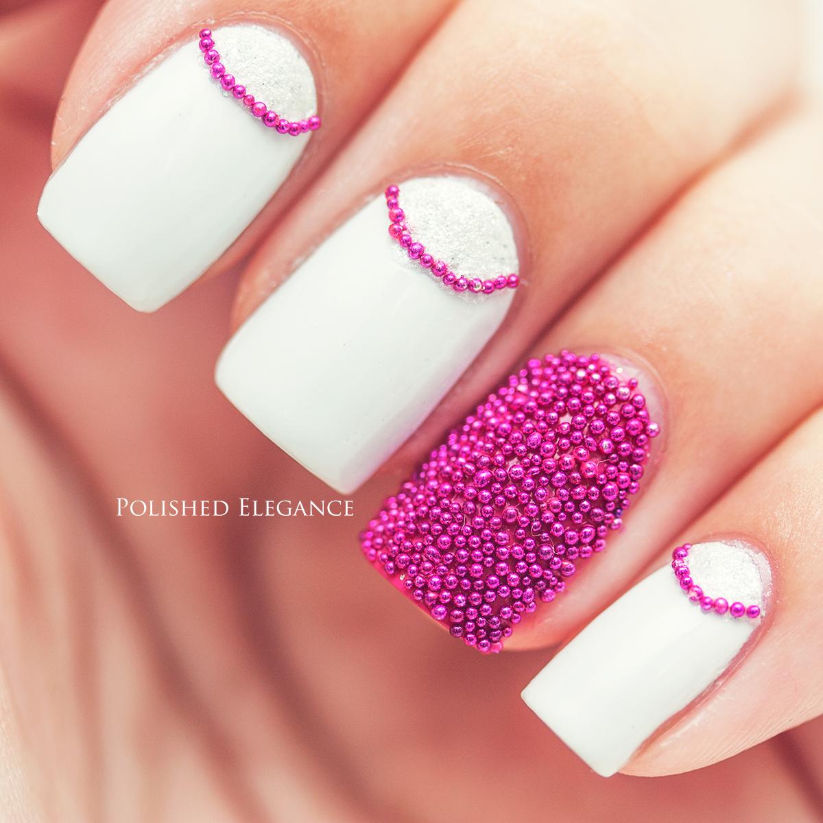 Caviar Nails: Polished Elegance: Review Of Caviar Beads