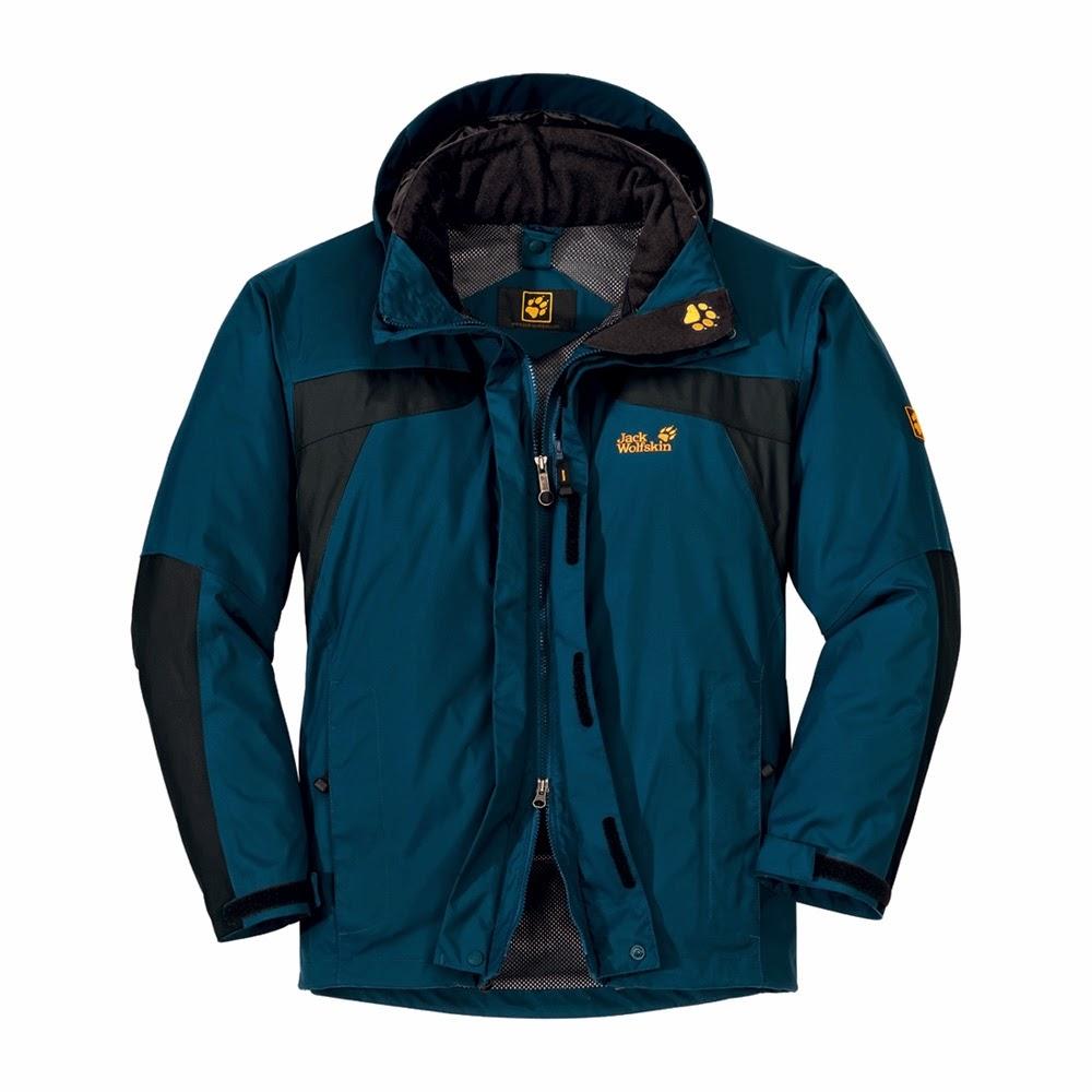 Jacket Jack Wolfskin Warna Biru