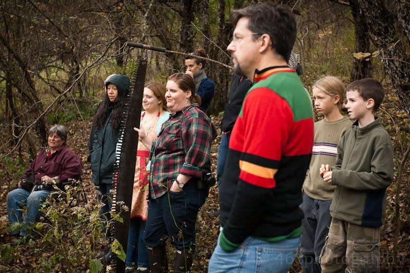 backyard lumberjack workshop