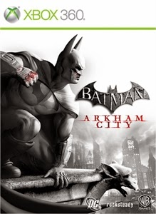 cover xbox360 du jeu batman arkham city