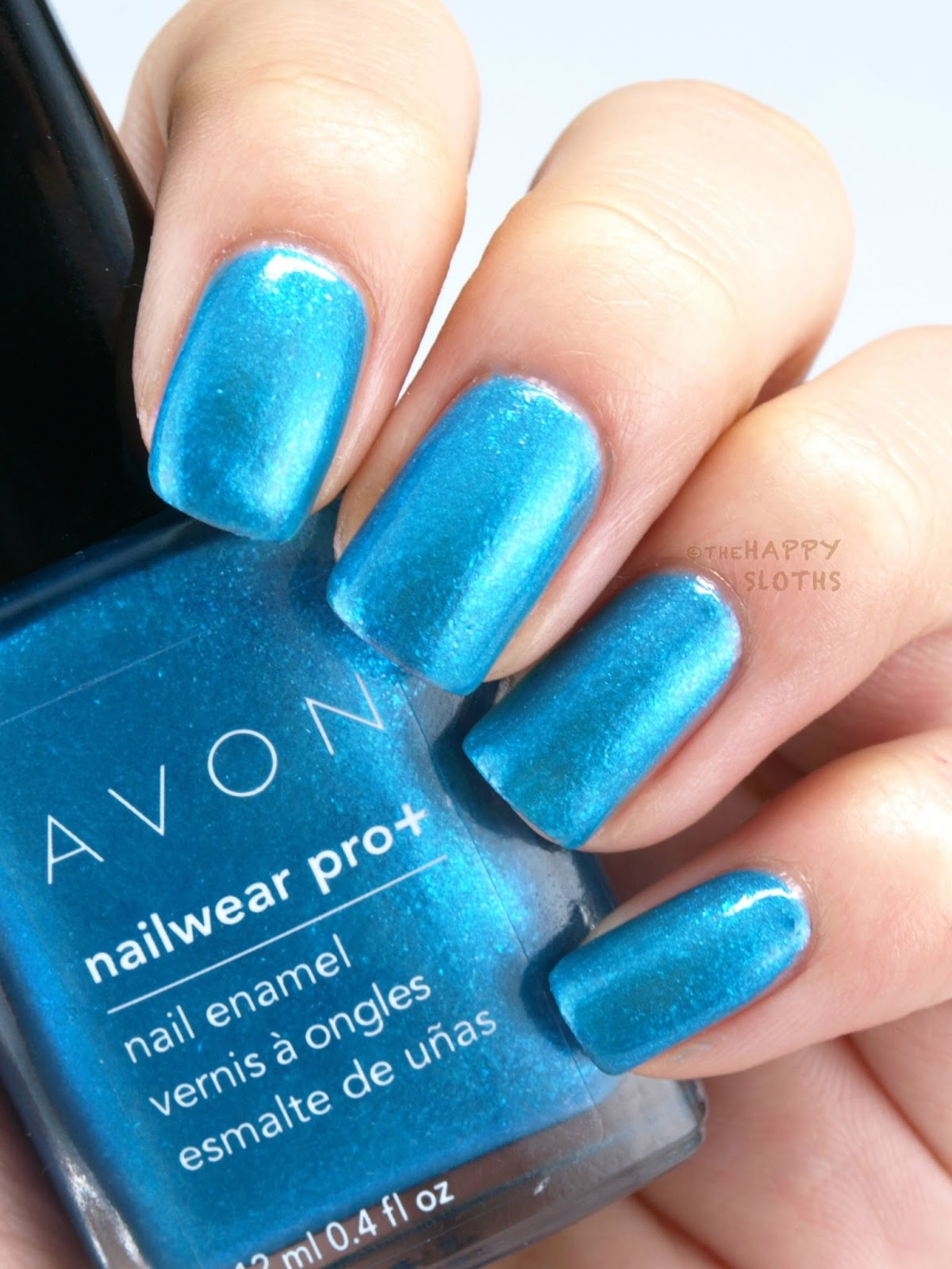 Avon Electric Shades Collection Nailwear Pro+ Nail Enamel: Review and Swatches